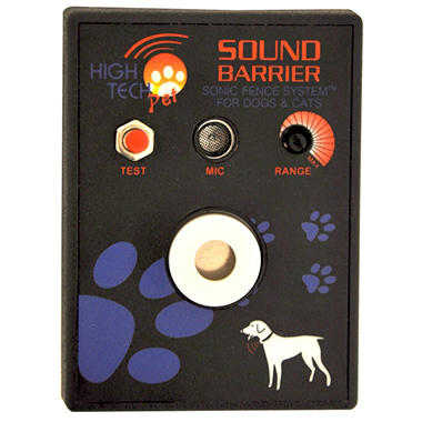 High Tech Pet - Sound Barrier Extra Receiver for Indoor Wireless Sonic Fence