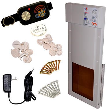 High Tech Pet - Power Pet  Automatic Pet Door - Medium