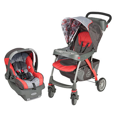 Evenflo Euro Trek Travel System - Spheres