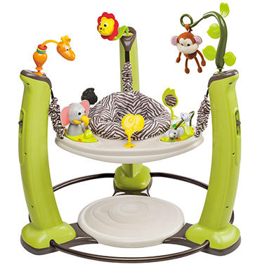 Evenflo Exersaucer Jump & Learn Activity Center - Jungle Quest