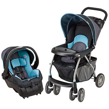 Evenflo Journey 300 Travel System - Koi
