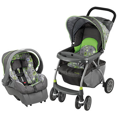 Evenflo Journey 300 Travel System - Pinwheel