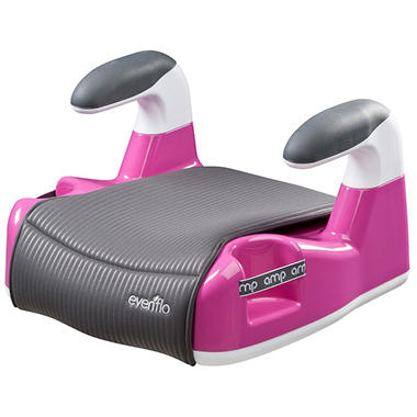 Evenflo AMP Performance No Back Booster - Pink