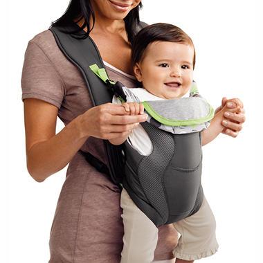 Evenflo Breathable Soft Carrier - Dottie Lime