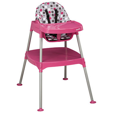 Evenflo Convertible High Chair - Dottie Rose