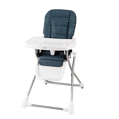 Evenflo Compact Fold High Chair, Koi
