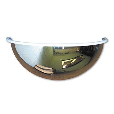 See All - Half-Dome Convex Security Mirror - 18