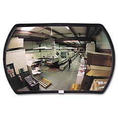 "See All 160 Degree Convex Security Mirror -  24"" w x 15"" h"