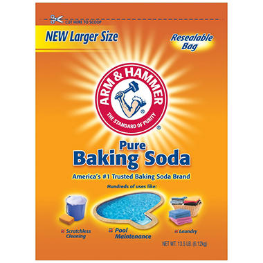 Arm & Hammer� Baking Soda - 13.5 lb. bag