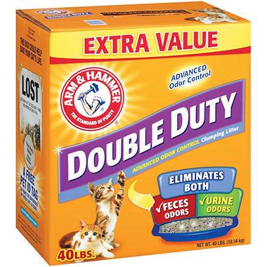 Arm & Hammer® Double Duty Cat Litter - 40 lbs.
