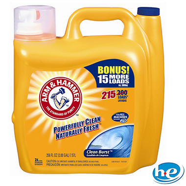Arm & Hammer Load Liquid Laundry Detergent - 256 oz. - 215 loads