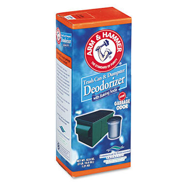 Arm & Hammer Trash Can & Dumpster Deodorizer 42.6 oz
