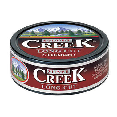 Silver Creek Long Cut Straight Chewing Tobacco - 5 ct.