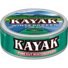 Kayak Long Cut Wintergreen, Prepriced for $1.99 (10 cans)