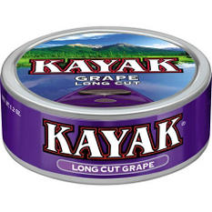 Kayak Smokeless Tobacco Long Cut Grape - 1.2 oz. - 10 ct.