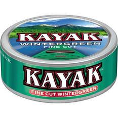 Kayak Smokeless Tobacco Long Cut Wintergreen - 1.2 oz. - 10 ct.