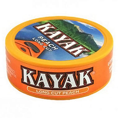 Kayak Smokeless Tobacco Peach - 1.2 oz. - 10 ct.