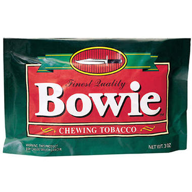 Bowie Chewing Tobacco - 12 / 3 oz.