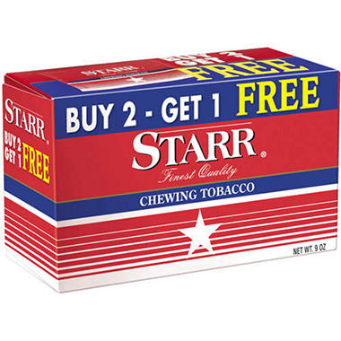 XOFFLINE+Starr Chewing Tobacco (12 pk.)