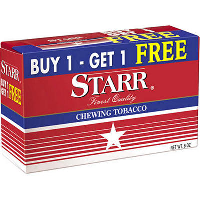 Starr Chewing Tobacco - 12 pk.