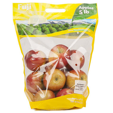 Organic Fuji Apples - 5 lb. bag