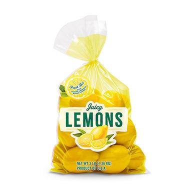 Lemons - 3 lbs.