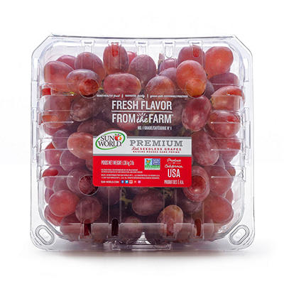 Red Seedless Grapes - 3 lbs.
