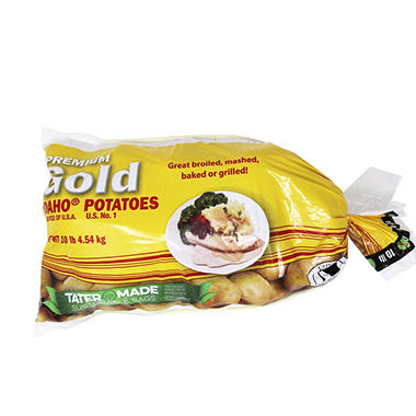 Green Giant Butter Gold / Yellow Potato - 10 lb. bag