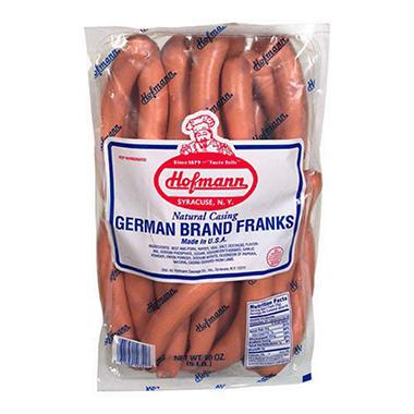 Hofmann N.C. German Brand Franks - 5 lb.