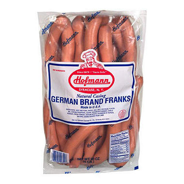 Hofmann N.C. German Brand Franks - 5 lb.