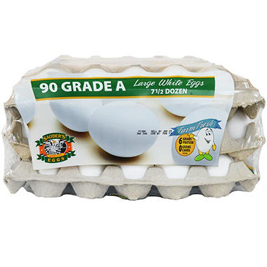 Sauder's Loose White Eggs - 7.5 doz.