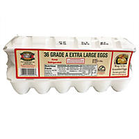Sauder's White Extra Large Eggs - 18 pk. - 2 ct.