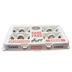 Amish Country Cage Free Eggs - 18 ct.