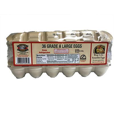 Sauder's White Large Eggs - 18 pk. - 2 ct.