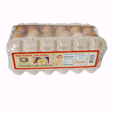 Sauder's Brown Large Eggs - 18 pk. - 2 ct.