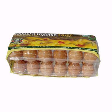 Sauder's Organic Brown Eggs, Large (2 doz.)