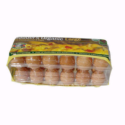 Sauder's Organic Brown Large Eggs - 2 doz.