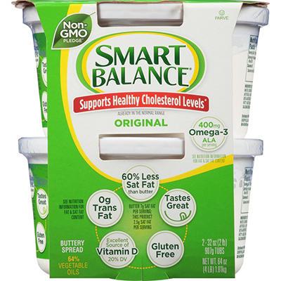 Smart Balance® Buttery Spread - 2 lb. - 2 pk.