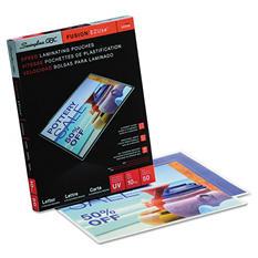 Swingline GBC - Fusion EZUse Premium Laminating Pouches, 10 mil, 11 1/2 x 9 -  50/Box