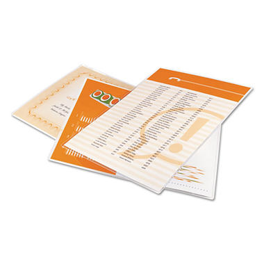 Swingline GBC - Laminating Pouches, 3 mil, 9 x 11 1/2 -  100/Box