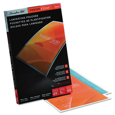 Swingline - HeatSeal LongLife Premium Laminating Pouches - 11 1/2
