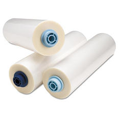 "GBC - Ultima EZload Roll Film, 3 mil, 1"" Core, 12"" x 200 ft. -  Clear Finish"