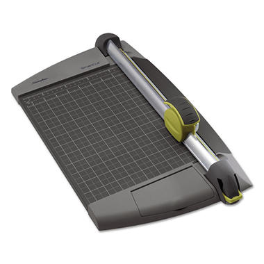 Swingline SmartCut EasyBlade Plus Rotary Trimmer, 15 Sheets, Metal Base, 11 1/2