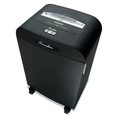 Swingline DS22-19 Heavy-Duty Strip-Cut Shredder - 22 Sheet Capacity