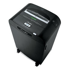 Swingline DX20-19 Continuous-Duty Cross-Cut Shredder, Black/Silver