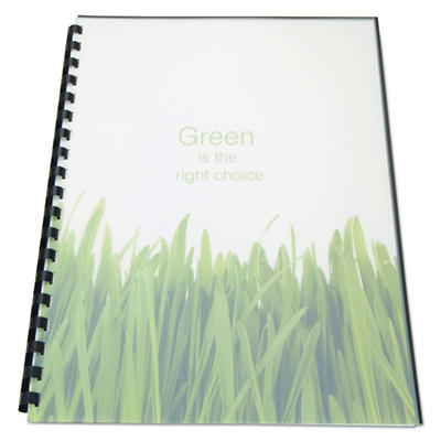 GBC® 100% Recycled Poly Binding Cover