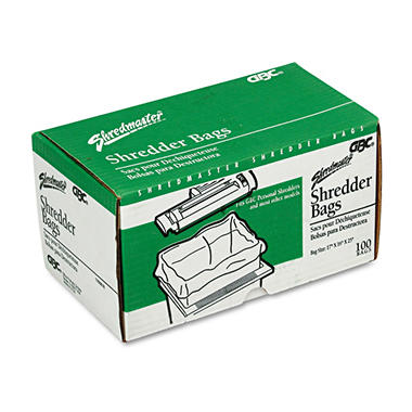 Swingline Personal Shredder Bags, Clear - 100 ct.