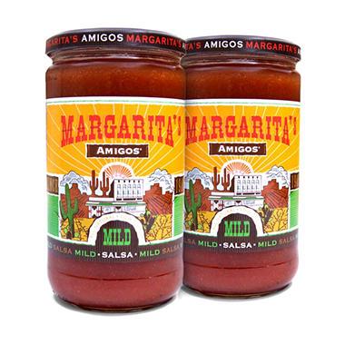 Margarita's Mild Salsa - 2/24 oz.