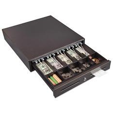 FireKing - Hercules Cash Drawer, Two Keys, 16 1/2 x 17 1/2 -  Charcoal Gray