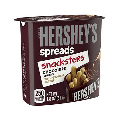SNACKSTERS HERSHEYS 10 PACK
